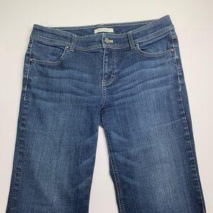 White Black House Market trouser leg jeans size 10